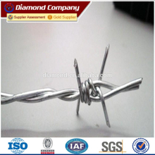(BWG14x14 or BWG16x16 with1.6 mm 2.1mm 2.5mm wire diameter) electric / hot dipped barbed wire