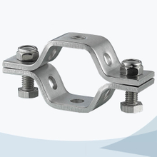 Sanitary heavy duty hex pipe support