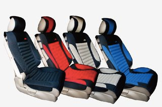 Luxurious breathable variant of seat cover