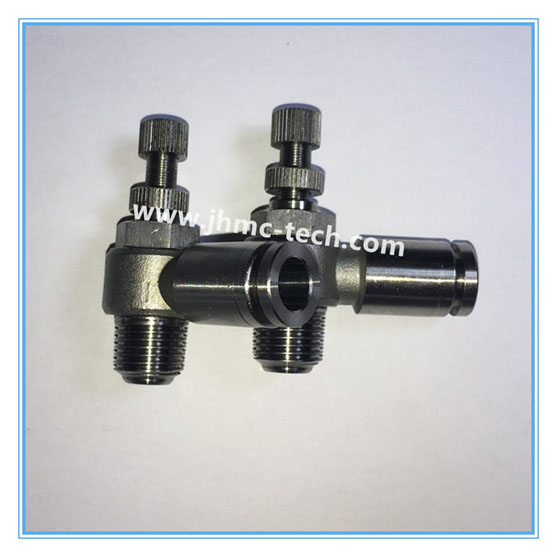 Stainless Steel Push-in Speed Control valve