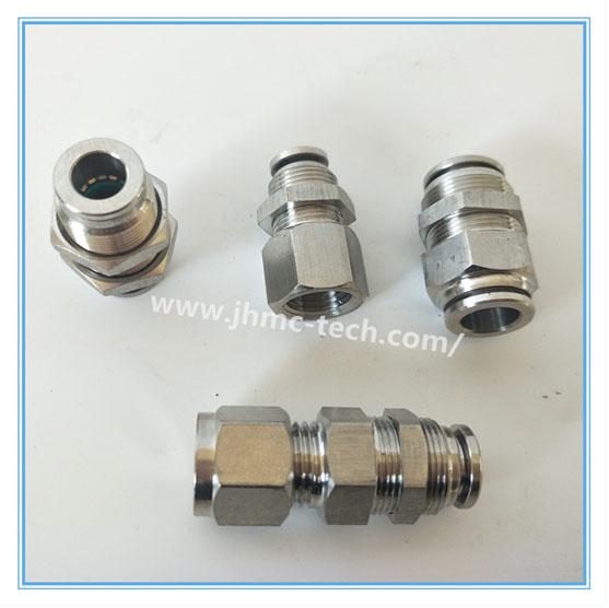 Stainless Steel Push-in Bulkhead fittings