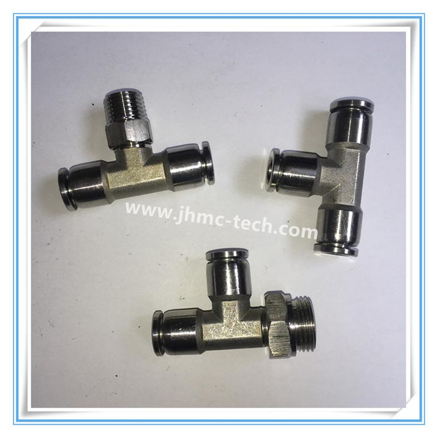 Stainless Steel Push-in Tee union