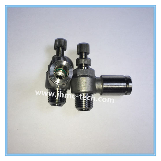 304/316 Push-in Speed Control valve