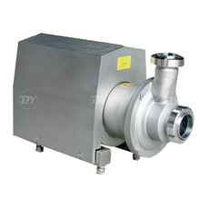 Sanitary Food Grade CIP Self-priming Return Pump