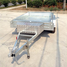 high-quality tandem trailer with 9x5ft