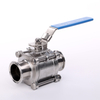 Stainless Steel Hygienic 3PCS Pipeline Ball Valves