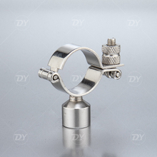 Sanitary Pipe Bracket with Female End