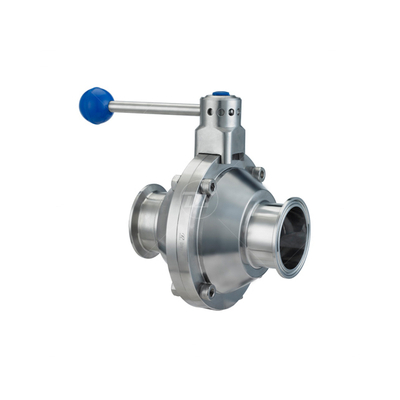 China Sanitary Stainless Steel Butterfly Ball Valves