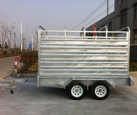 animal delivery trailers for tractor