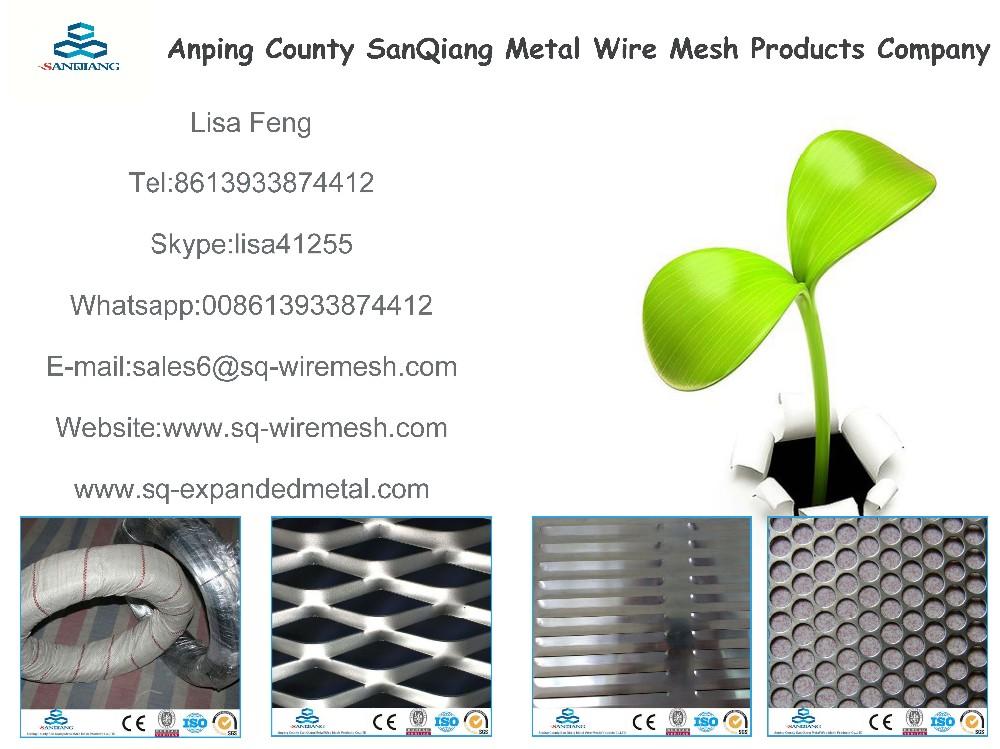 Best Price Galvanized Decorative Perforated Metal screen door mesh