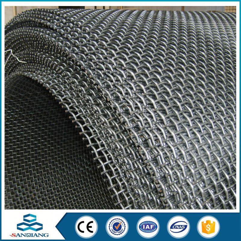 China Popular anping ss stainless steel crimped wire mesh for sale