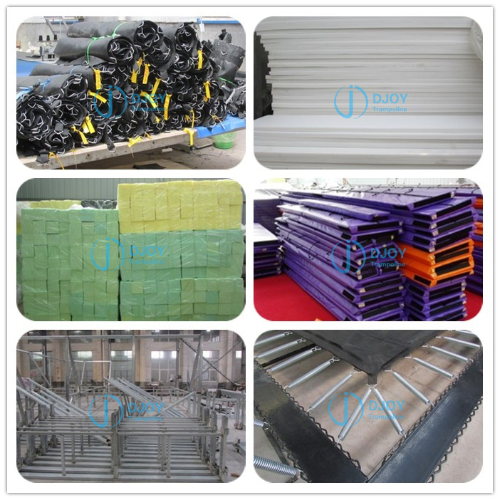 Trampoline Park Materials