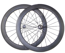 700C CARBON WHEELS 60MM CLINCHER 23mm width U shape