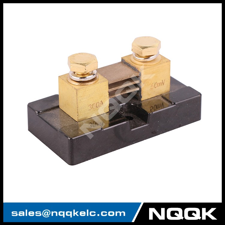 NK9991 US type 300A 50mV DC current Manganin shunt resistor for ...