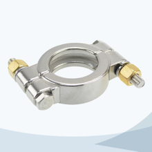 Sanitary heavy duty 13MHP high pressure clamp