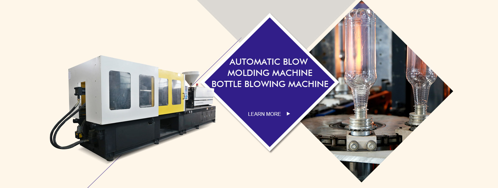 modern-pack bottle blowing machine