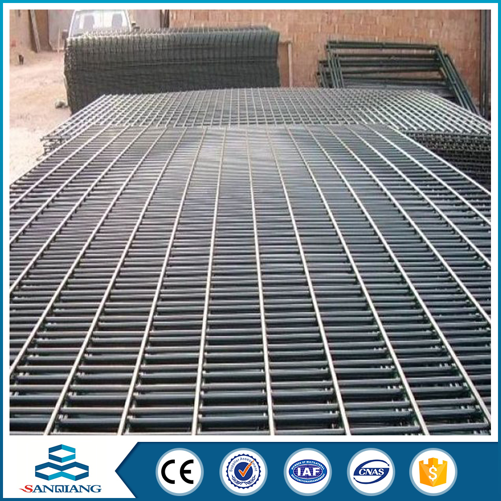 High Quality heavy gauge 2x2 galvanized welded wire mesh fence panel ...