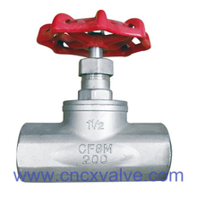 Screwed End Globe Valves