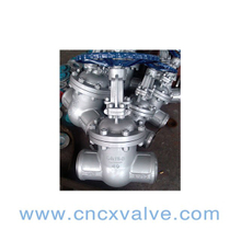 Butt Welded End Cast Steel Gate Valve