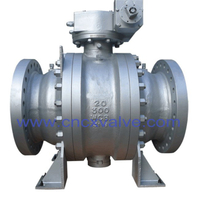 Casted Trunnion Mounted Ball Valve