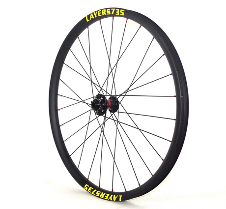 free shipping 650B carbon tubeless MTB wheels 35mm width