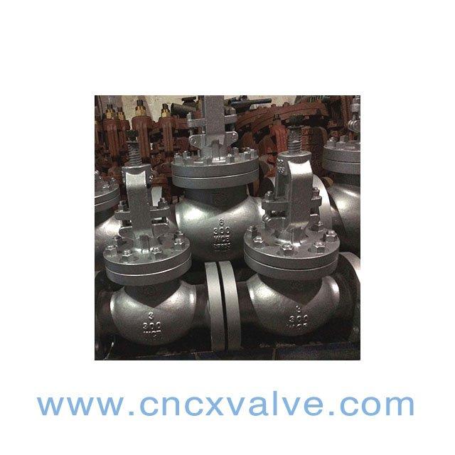 Válvula de globo del astm a216wcb de la CX