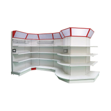 Most stylish steel metal display used supermarket shelf