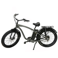 750w/500w Bafun motor man beach electric bicycle
