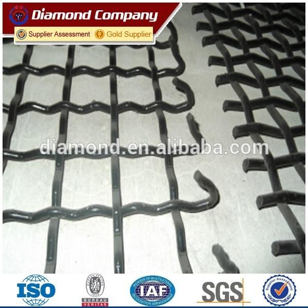 C45 woven screen mesh / mining screen mesh / crimped wire mesh ...