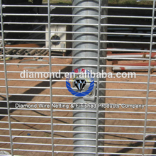 cheap anti-climb fence /PVC Coated Climb 358 Mesh Fence export to malaysia , south africa ,USA