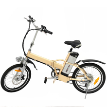 High Quality Wholesale 250W Folding Electric Bike Cheap Mini Fat Tire Foldable E-Bicycle