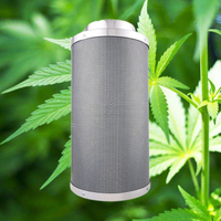 Grow room carbon filters