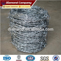 Anping hot sale barbed wire / barbed wire price / glavanized barbed wire manufacture