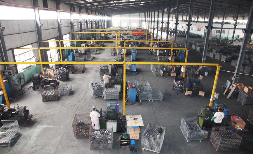 Bearing housing lathe processing workshop