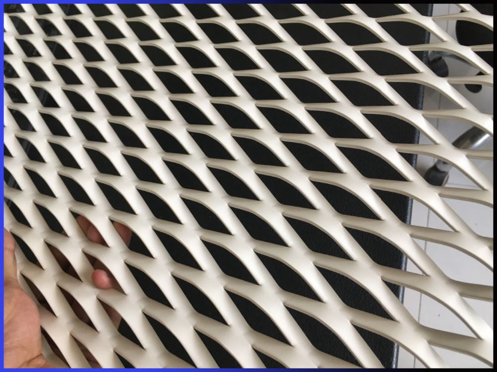 aluminum decorative Expanded Metal Mesh facade panels