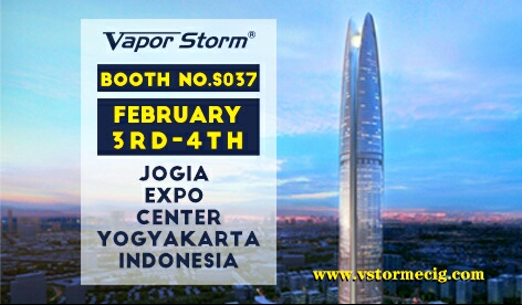 Feb.3rd-4th See you at Vape Expo Indonesia!!