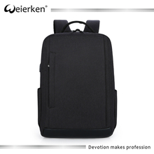 2017 custom latest design good material laptop blank backpack for school