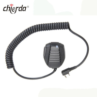 Chierda D24 OEM IP54 Waterproof Ham Radio Transceiver Speaker Microphone Headset for Chierda Kenwood ,Motorola, ICOM ,YAESU