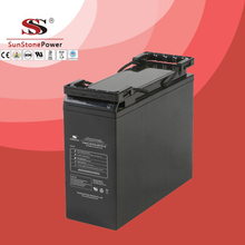 VG Series 12V 55AH Front access Deep cycle battery rechargeable lead acid battery Telecommunication battery