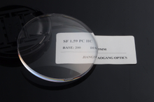 d75a5e9c4f0 Optical Polycarbonate Lens Blanks 65 70MM Diameter 1.59 Index Hard Coated -  Buy Polycarbonate Glasses Lens