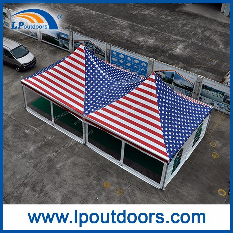 USA 20X40′ Outdoor High Peak Full Logo Printing Frame Tent