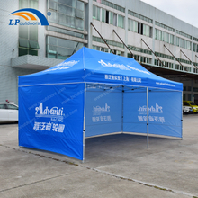 3x6m Customized Advertising Folding Canopy Tent For Promotion