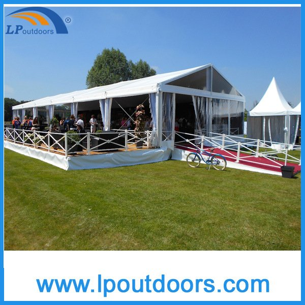 Mixed Party Marquee Tent With Clear Side Walls for Celebration