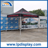 10ft x 10ft Hexagonal Steel Tube Folding Canopy with Logo Printed