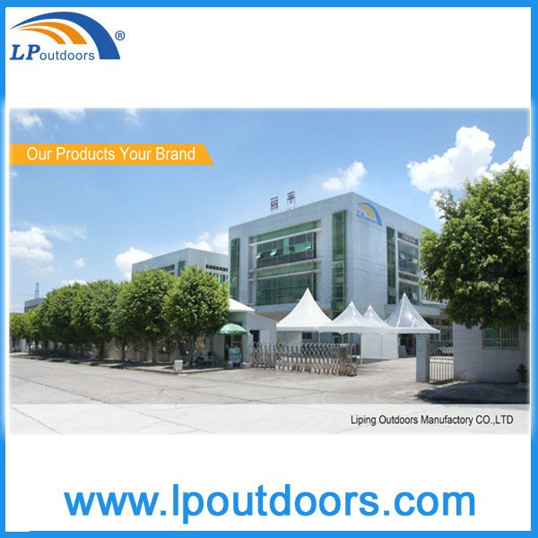 6X6m Outdoor Aluminum Frame High Peak Spring Top Tent for Event Sales