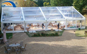 Why 15m Transparent Roof Party Marquee Tent Is Being Loved
