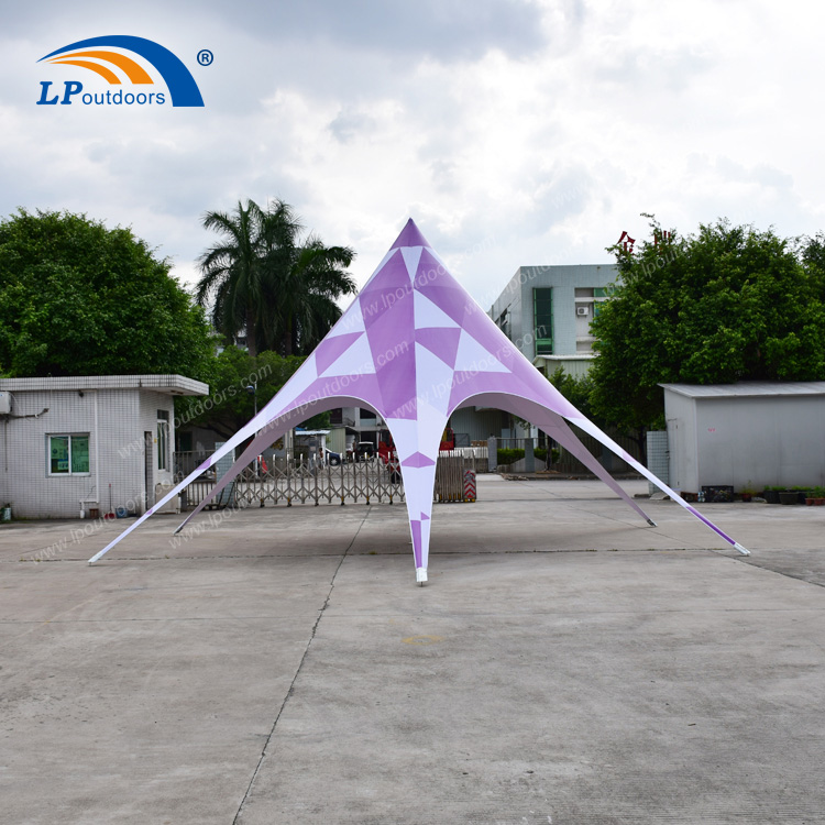 Dia10M Outdoor Adversting Star Spider Event Tent For Display Show