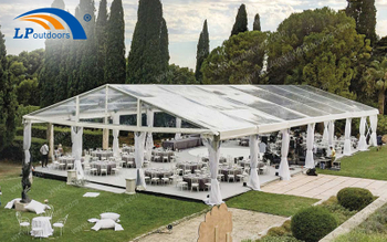 3 Kinds Of Transparent Roof Clear PVC Aluminum Wedding Tent For Your Choice
