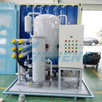 ZJC-T series turbine oil recycling system to improve oil's color and quality