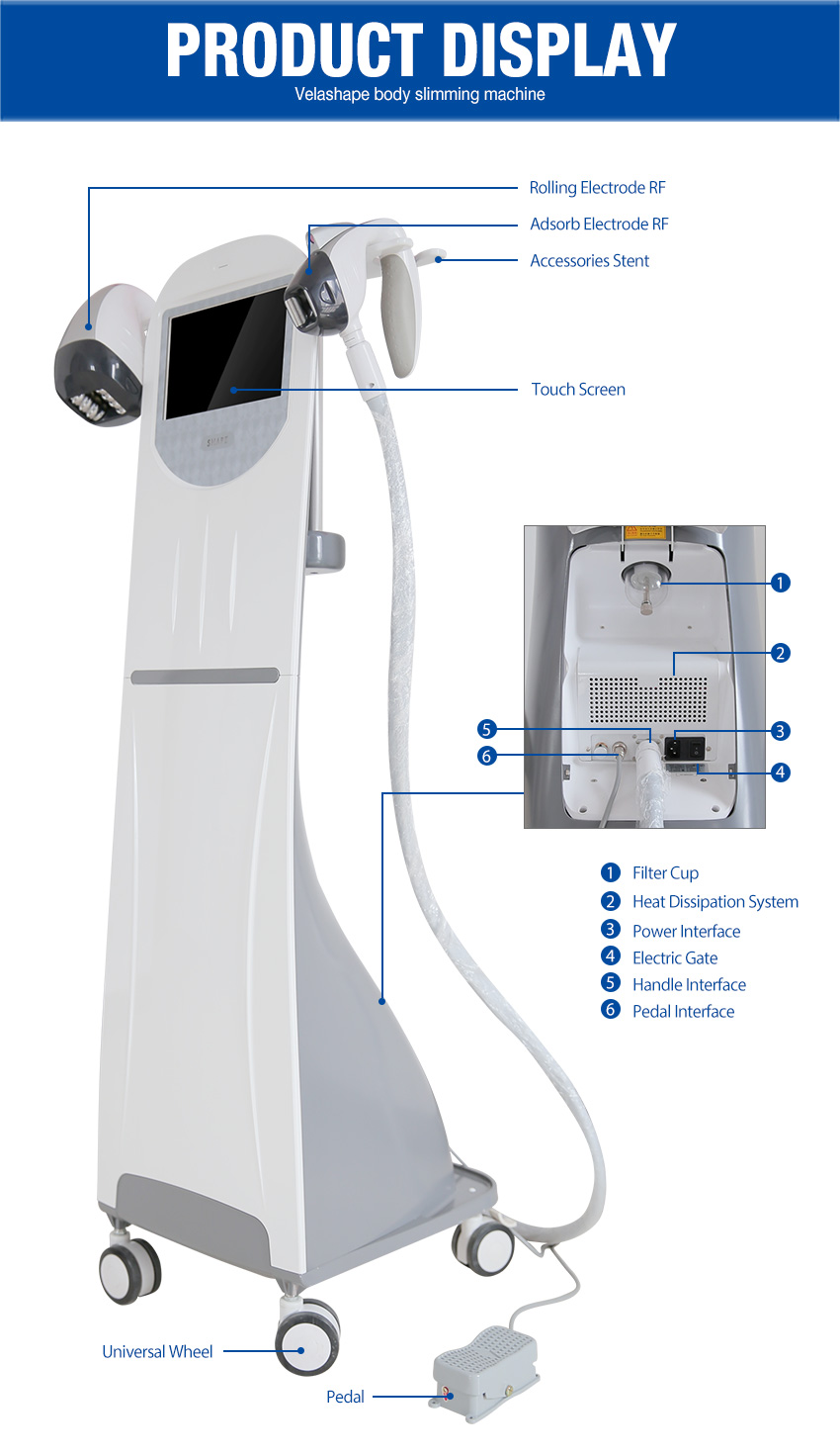 velashape machine details